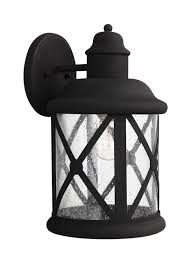 8721401 12 large one light outdoor wall lantern black