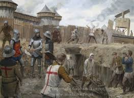 the siege of harfleur studio 88 limited siege of harfleur original painting