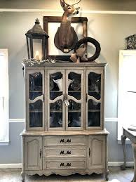 Charming Small China Cabinet Used Dining Room Hutch Captivating In Cabinets Prepare 2
