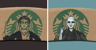 This Instagrammer Turns Starbucks Coffee Sleeves Into Art