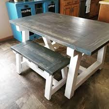 Custom Built Farmhouse Table Lindsey Farm 6piece Trestle Table Set Urban Chic Small Ding Bench Hallowood Amazoncom Vermont The Gather Ash 14 Rentals San Diego View Our Gallery Lots Of Rustic Tables Jesus Custom Square Farmhouse Farm Table W Matching Benches Reclaimed Chestnut Wood Harvest Matching Free Diy Woodworking Plans For A Farmhouse Handmade Coffee Ashley Distressed Counter 4 Chairs Modern Southern Pine Wmatching Bench