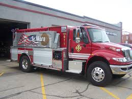 Le Mars Fire Department Gets New Truck - KLEM 1410 Irving Fd The First To Deploy Blocker Trucks Nbc 5 Dallasfort Worth Fire Truck Sales Fdsas Afgr Trucks And Refighters With Uniforms Protective Helmet Solon Oh Official Website City Of Rochester Meets New Community Requirements A Custom Tomball Tx Whats Difference Between Engine Hawyville Firefighters Acquire Quint The Newtown Bee Smeal Apparatus Co