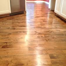 Maple Wood Floor Hardwood Refinish Project With Dark Brown Stain On In Today