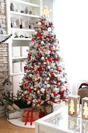 Cozy Ideas Christmas White Trees Cheap Decorated House On Clearance Flocked Small Twig