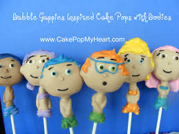 Bubble Guppies Cake Toppers by Bubble Guppies Cake Toppers Cake Pop My Heart