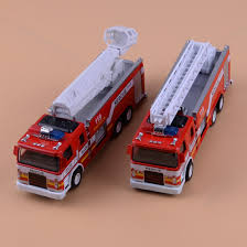 100 Rescue Truck 132 Fire With Light Sound Kids Play Toys Fire
