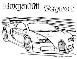 Printables For Boys At Bugatti Coloring Page