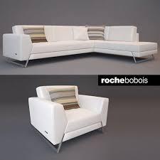canap roche et bobois roche bobois satelis canape sofa and armchair free 3d model max
