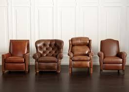 Ethan Allen Bennett Sofa 2 Cushion by Amazon Com Ethan Allen Cromwell Leather Recliner Omni Tobacco