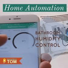 Humidity Sensing Bathroom Fan by Wifi Bathroom Humidity Sensor W Fan Control App U0026 Automation 6
