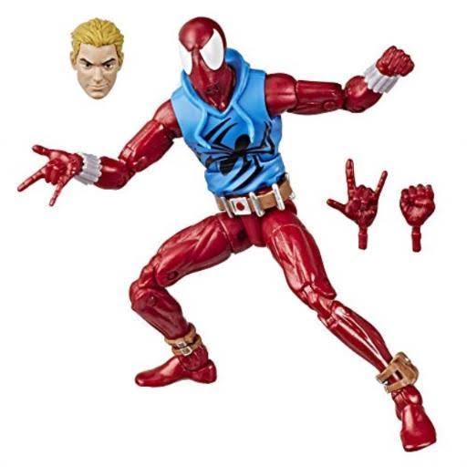 Hasbro Marvel Legends Vintage Scarlet Spider-man Action Figure - 6""