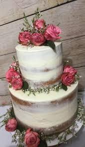 Sheer Naked Wedding Cake Design North Richland Hills TX Fort Worth
