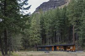 100 Modern Mountain Cabin LOT 6 Methow Valley David Simister Architect