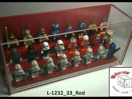 Designed Acrylic Display Cases For LEGO Minifigures L 1232 33