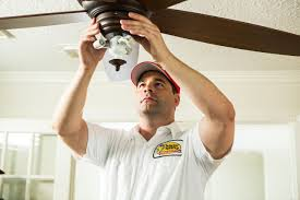 Summertime Ceiling Fan Direction by Ceiling Fan Installation Mister Sparky Electrician St Louis