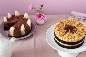 schokomousse birnen torte rezept