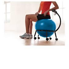 Gaiam Classic Balance Ball Chair Charcoal by Zenergy Ball Chair Cozy Pergo Flooring With Elegant Black Gaiam