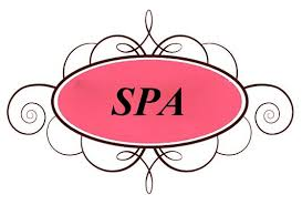 New Spa Party Clip Art