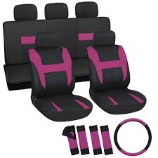 Oxgord Trim 4 Fit Floor Mats by 101s1 1 Cloth Car Seat Covers 17pc Sets Thecarcover