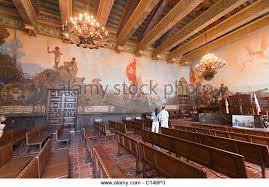 Santa Barbara Courthouse Mural Room by California History Mural Stock Photos U0026 California History Mural
