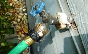 tire rim water hose holder hometalk