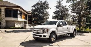 2018 Ford F-Series Super Duty Limited Pickup Truck Tops Out At $94,000