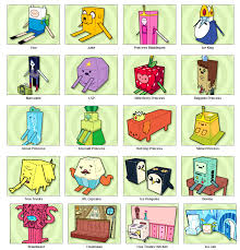 Adventure Time Cut Outs