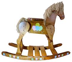 Wooden Rocking Horse - Balloons Painted Hand Made Amish-MEDIUM Lovely Vintage Wooden Rocking Horse Sanetwebsite Restored Wood Rocking Horse Toy Chair Isolated Clipping Path Stock Painted Ponies Competitors Revenue And Employees Owler Rockin Rider Maverick Spring Chair Rocard This Is A Hand Crafted Made Out Of Pine Built Childs Personalized Rockers Childrens Custom Large White Spindle Rocker Nursery Fniture Child Children Spinwhi Fantasy Fields Knights Dragon Themed Kids Lady Bug 2 In 1 Baby Ride On Animal