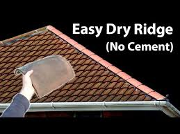how to replace ridge tiles fit a hip ridge