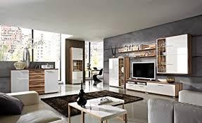 wohnzimmermöbel komplett baltimore walnuss weiß marek