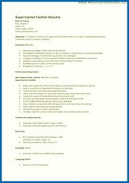 Resume Skills And Abilities Communication Template Top Objective For Cashier Good Regarding Examples Of On A