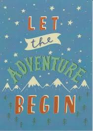 Adventure Print Inspirational Quote Travel Kids Wall Art Mountain Baby Gift Nursery Stars Childrens Room Decor