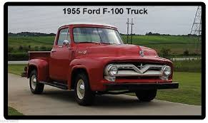 1955 Ford F-100 Truck Refrigerator Magnet | EBay 1961 Ford F100 Goodguys 2016 Lmc Truck Of The Yearlate Winner Who Killed Motor Trend Sold F 100 Ranger Xlt 390 Automatic Mike Cars 1970 Sport Custom Long Bed Hepcats Haven 1955 Pickup Beautiful Restored 130 1960 Stock Photos Flareside Abatti Racing Trophy Forza Motsport 1956 Pick Up Street Rod For Sale Youtube Never Built An Boss 302 But Someone Did Why Vintage Pickup Trucks Are Hottest New Luxury Item Ford Panel 17100 Pclick Matchbox Delivery Mobile Pinstriper 3