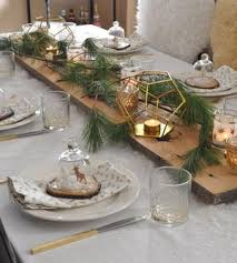 Christmas Table Settings Rustic And Snowy Setting Ideas