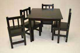 Unfinished Kids Table And Chairs - Yamsixteen