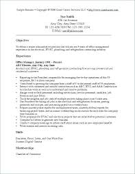 Objective Resume Samples General Examples Example For Management