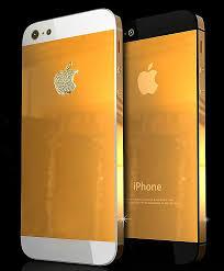 Iphone 5 Gold Case