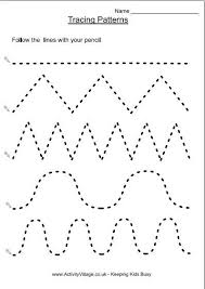 Kids Under 7 Tracing Worksheets For