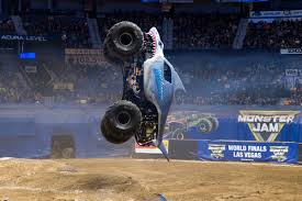 Monster Jam Roars Back Into Civic Center With Super Shark Megalodon ... Mommie Of 2 Monster Jam World Finals Las Vegas Review Monsterjam Firework Burns Attendees Event Coverage Rc 2018 Sam Boyd Stadium Xix Xvii From In Monster Truck Ride Las Vegas Sin City Hustler Truck Build Worlds Longest To Hit Trade Show Circuit Medium Air Force Wows Crowd Us Image 58jamtrucksworldfinals2016pitpartymonsters Show At Etrack Nevada Image Free