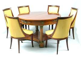 Empire Dining Chairs Style An Table And Six Ca Century French