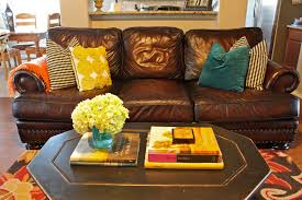 Brown And Teal Living Room by Teal Yellow Living Room Centerfieldbar Com