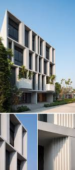 100 Modern Townhouses The Facade Of These Welcomes Visitors With