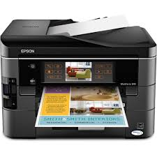 Epson WorkForce 845 All In One Color Inkjet Printer