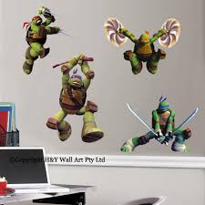 Ninja Turtle Decorations Uk by Wall Decal Awesome Ninja Turtle Wall Decals Ninja Turtle Decals