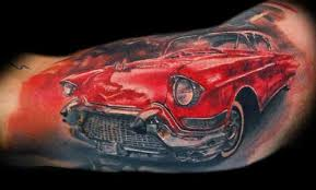 10 Amazing Examples Of Cars Tattoos