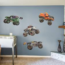 100 Monster Truck Wall Decals Jam Collection XLarge Officially Licensed Jam