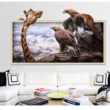 3D Removable Giraffe Owl Coast Wall Sticker Art Vinyl Decal Home Room Decor