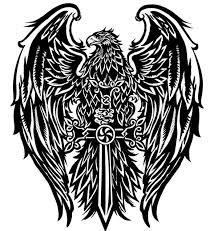40 Tribal Eagle Tattoo Designs For Men