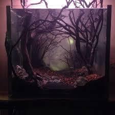 Star Wars Themed Aquarium Safe Decorations by Dark And Eerie Fish Tank Fish Tanks Fish And Dark