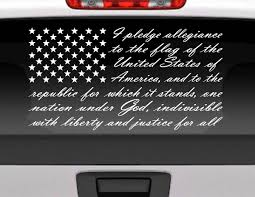 Pledge Of Allegiance American Flag Die Cut Vinyl Window Decal For ... Duck Rear Window Graphic Realtree Max5 Camo Camouflage Decals Jdm Tuner Window Decal Stickers For Your Car Or Truck Youtube Truck Graphics My Lifted Trucks Ideas Vehicle Lettering Osage Beach Mo Funny Catherine M Johnson Homes Modification Vinyl Lab Nw Sign Company From A1 Pro Tint American Flag Prairie Gold Stone Black And White Thking Of Installing In Denver Co Read This Back Walldevil Chrome Sports Car Custom Metal Mulisha Skull Circle X22 Decal